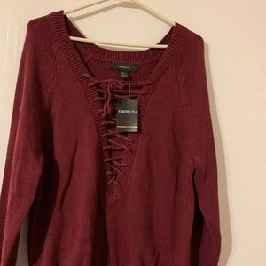Baggy Maroon Sweater